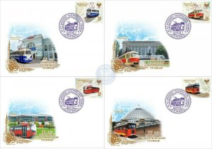 Stamps of Ukraine 2018. (Local) - Envelopes of the first day. Set of 90 years ol