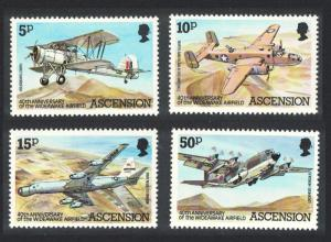 Ascension Wideawake Airfield 4v SG#318-321 SC#309-312