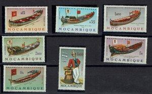 D - Mozambique 1964 Barcos Marinha 481/487 MNH***