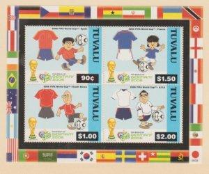 Tuvalu Scott #994 Stamps - Mint NH Souvenir Sheet