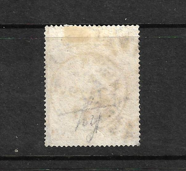 BARBADOS 1873 5/- DULL ROSE  BRITANNIA FU  SG 64