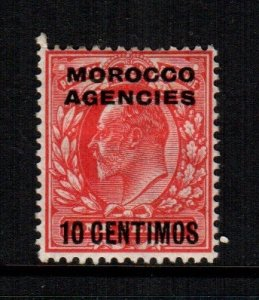 Great Britain Morocco   35  MH  Cat $ 13.50 offices abroad