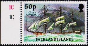 Falkland Islands. 1989 50p S.G.579 Unmounted Mint