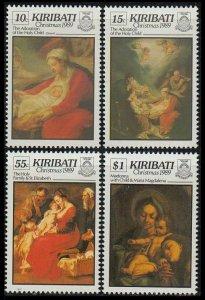 1989 Kiribati 536-539 Artists / A. Correggio 11,00 €