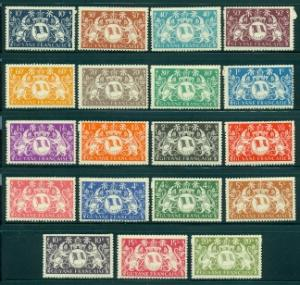 French Guiana #173-191  Mint  Scott $16.30