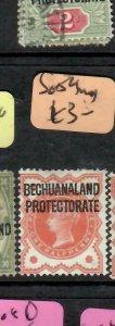 BECHUANALAND (P1705B)  QV  ON GB  1/2D   SG 4    MOG