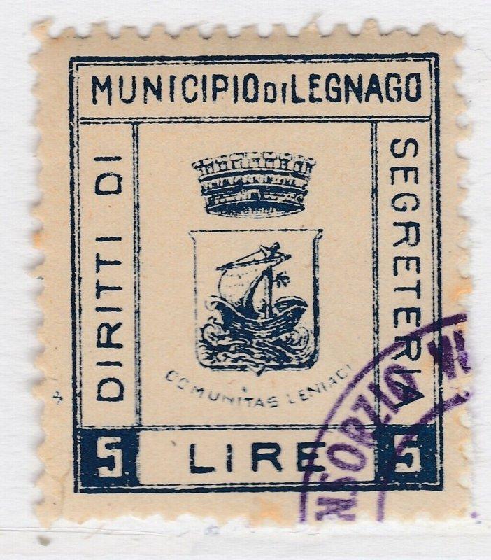 Italy Municipal Revenue Marca Comunale Legnago Used A22P4F7773