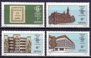 Lithuania. 1993. 540-43. Stamps at the post office stamps. MNH.