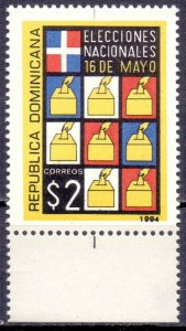 Dominican Republic. 1994. 1704. elections. MNH.