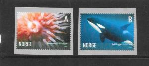 MARINE LIFE - NORWAY #1440-1 MNH