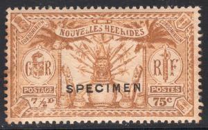NEW HEBRIDES-FRENCH SCOTT 51