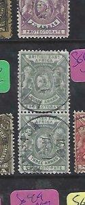 BRITISH EAST AFRICA (P1809B)  LION, QV  3A  SG 69  PR MOMBASA CDS  VFU