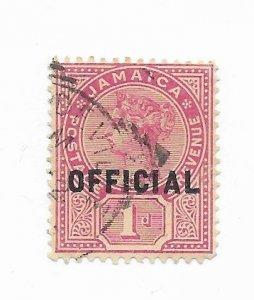 Jamaica #O3 Used - Stamp - CAT VALUE $1.50