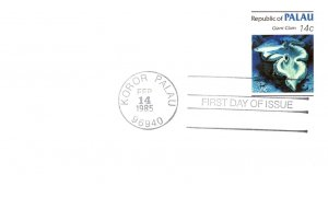 Palau, Worldwide First Day Cover, Marine Life
