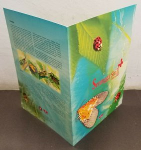 Malaysia Insect Series III 2007 Grasshopper Beetle Bug (folder) *limited