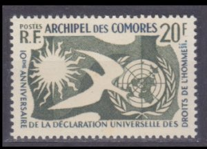 1958 Comoro Islands 38 10 years Universal Declaration of Human Rights 11,00 €