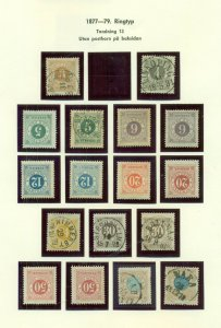 SWEDEN MINT COLLECTION - 90% Never Hinged, Facit $42,996.00 - EXCEPTIONAL!