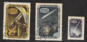 Russia - 1957 - SC 1957-59 - Used - Complete set