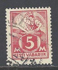 Estonia Sc # 70 used (BC)