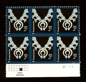 US #3750 2¢ Navajo Necklace