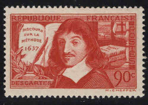 FRANCE Scott 330 MH* sur la Methode stamp