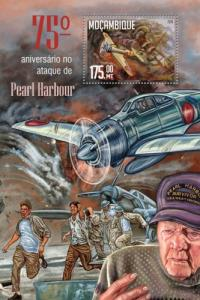 Mozambique MNH S/S Pearl Harbor 2016