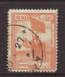 1921 Iraq 5 Rupees Fine Used SG52