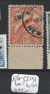 NEW GUINEA(PP1309B)  2D BIRD A/M  NO DATES SG 193   VFU  BULOLO
