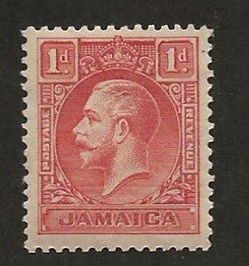 JAMAICA SC# 103  VF/MOG
