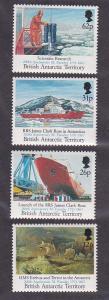 British Antarctic Territory 188-91, F-VF, MNH