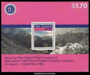 New Zealand Scott 906a Mint never hinged.