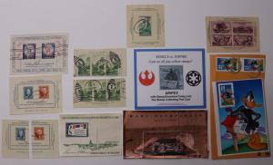 US Souvenir Sheet lot SS 751 778 797 1311 978 1956 1757 2216-2219 3178 ARIPEX