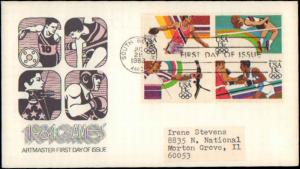 United States, Indiana, First Day Cover, Sports