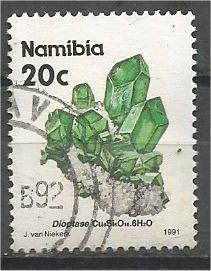 NAMIBIA, 1991, used 20c Minerals, Scott 679