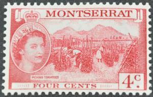 DYNAMITE Stamps: Montserrat Scott #132 – MINT hr