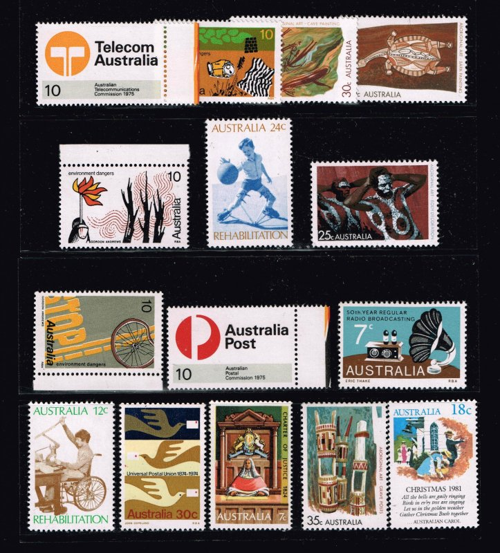 Australia > States & Territories MNH STAMPS COLLECTION LOT