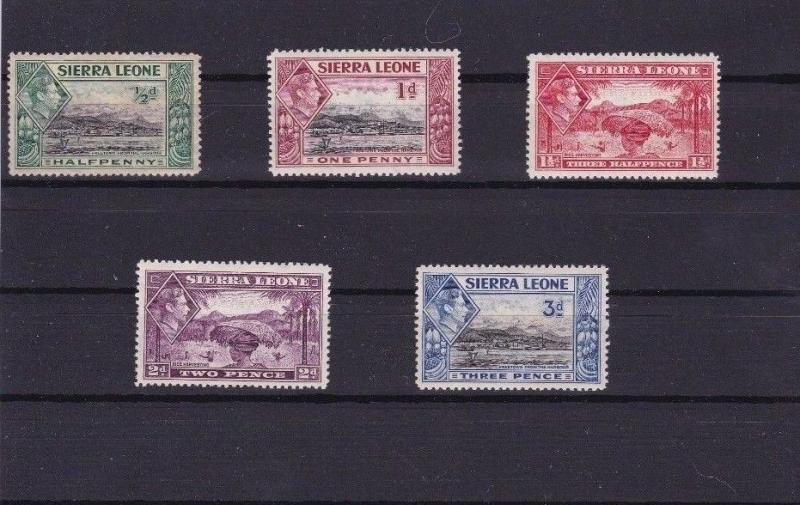 SIERRA LEONE  UNMOUNTED MINT STAMPS CAT £75+   REF  R1264
