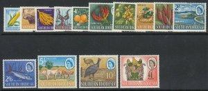 Southern Rhodesia Sc 95-108 (SG 92-105), MLH