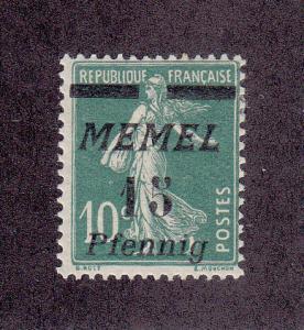 Memel Scott #53 MH