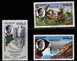 IRAQ Scott  185-187 MH** 1958 development set