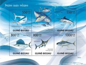 Guinea-Bissau MNH S/S Game Fish 2009