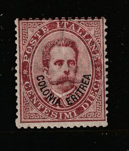 Italian Eritria a MH 10c from 1893