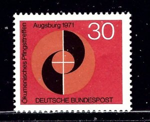 Germany 1071 MH 1971 issue    (ap2072)
