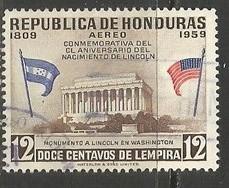 HONDURAS C294 VFU LINCOLN P807-5