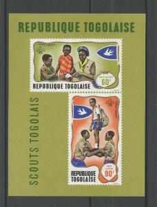 1968 Togo Boy Scouts SS