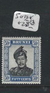 BRUNEI  (PP1005B)  50C  SG 128  MOG