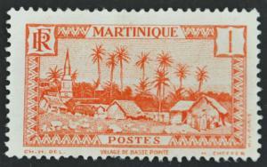 DYNAMITE Stamps: Martinique Scott #133 – UNUSED