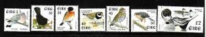 Ireland-Sc#1105//1111-unused NH-Birds-1998-9-