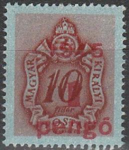 Hungary #J178 MNH