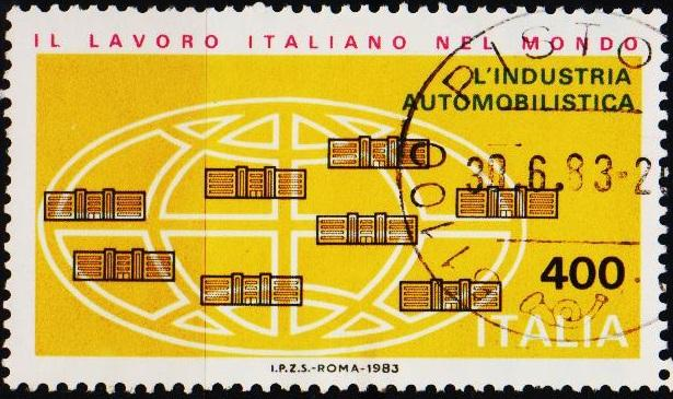 Italy. 1983 400L S.G.1780 Fine Used